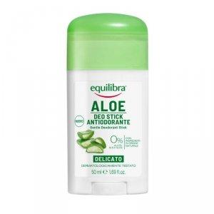 Equilibra - Aloe Gentle Deo-Stick aleosowy dezodorant sztyft 50ml
