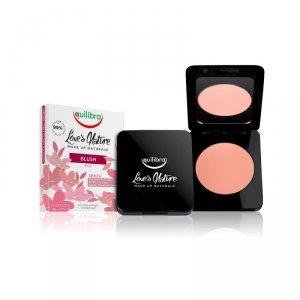 Equilibra - Love's Nature Colour Blush róż do policzków 02 Peach 8.5g