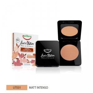 Equilibra - Love's Nature Compact Bronzing Powder puder brązujący 01 Intense Matte 8.5g