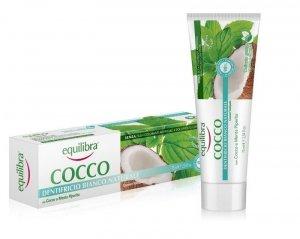 Equilibra - Cocco Toothpaste kokosowa pasta do zębów Naturalna Biel 75ml