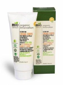 Organic innovation - Naturalny aloesowy nawilżający krem do ciała Prawoślaz i Oczar Wirginijski 200ml