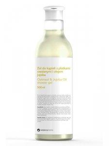 Botanicapharma - Oatmeal & Jajoba Oil Shower Gel żel do kąpieli z płatkami owsianymi i olejem jojoba 500ml