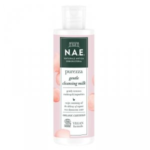N.a.e - Purezza Gentle Cleansing Milk delikatne mleczko oczyszczające do twarzy z organiczną wodą z róży damasceńskiej 200ml