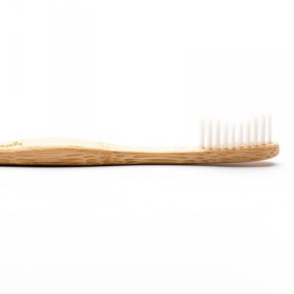 Humble Brush, Bambusowa szczoteczka do zębów dla dorosłych, Medium, biała