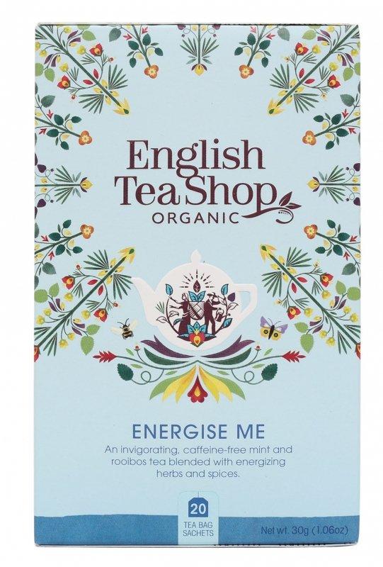 English Tea Shop, Herbata Wellness, Energize Me, 20 saszetek