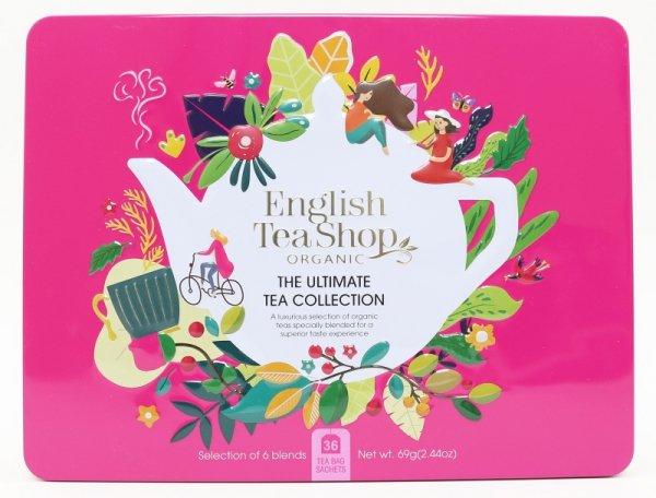 English Tea Shop, Herbata BIO Zestaw Ultimate Tea Collection, 36 saszetek