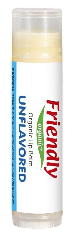 Friendly Organic, Organiczny balsam do ust Bezzapachowy, 4,25g