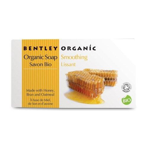 Bentley Organic, WYGŁADZAJĄCE Mydło z Miodu, Otrąb i Płatków Owsianych, 150 g