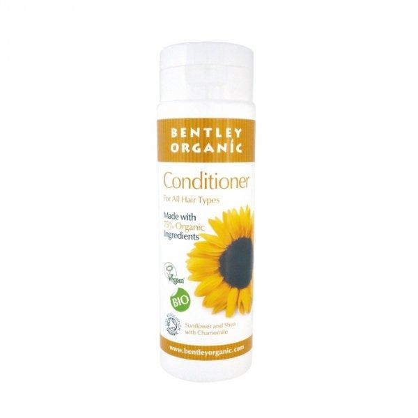 Bentley Organic, Odżywka do Włosów ze Słonecznikiem, Masłem Shea i Rumiankiem, 250 ml
