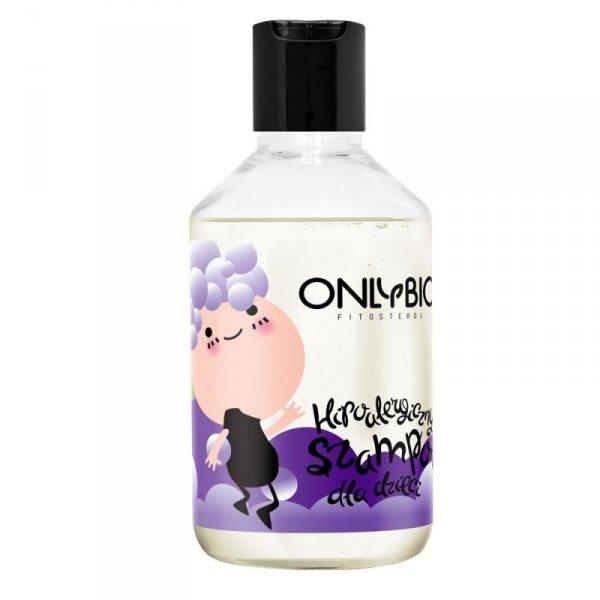Only Bio, Hipoalergiczny szampon dla Dzieci, skóra atopowa, alergiczna, skłonna do podrażnień, 250ml
