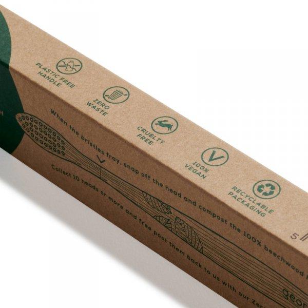 Georganics, Ekologiczna szczoteczka z drewna bukowego, MEDIUM