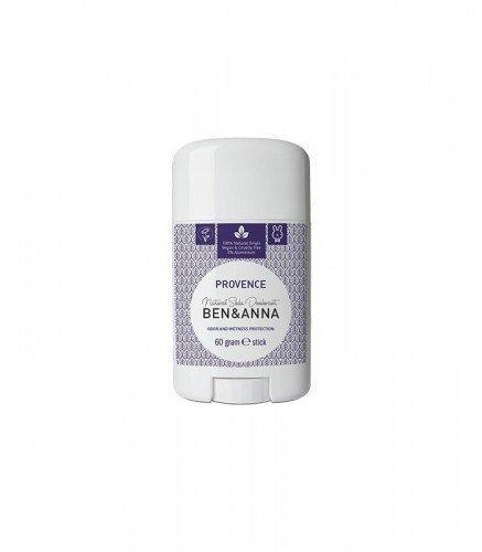 BEN & ANNA Naturalny Dezodorant na bazie Sody PROVENCE (sztyft plastikowy) 0% Aluminium 60g
