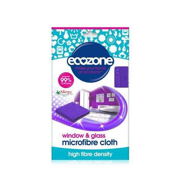 ECOZONE Ściereczka z mikrofibry do mycia okien i szkła