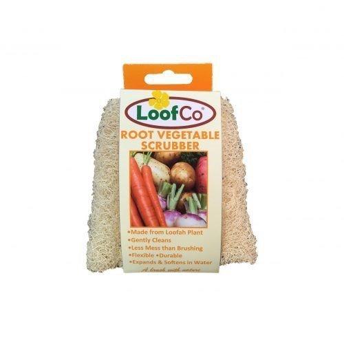 LoofCo Gąbka do warzyw z naturalnej rośliny Loofah