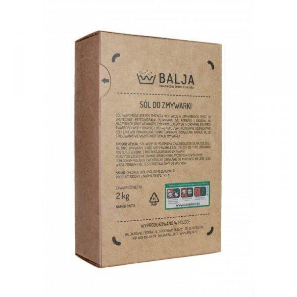 BALJA Ekologiczna Sól do zmywarki 2 kg