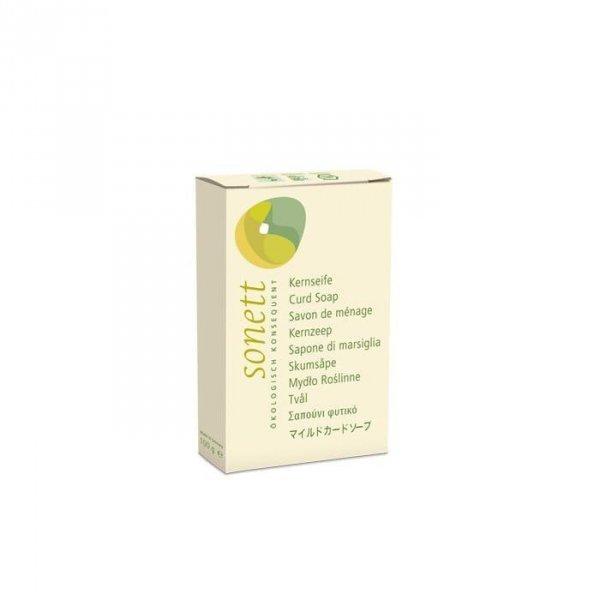 SONETT Ekologiczne wegańskie mydło roślinne w kostce 100g