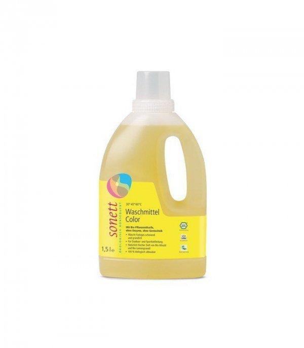 SONETT Ekologiczny płyn do prania Mięta-Cytryna KOLOR 1,5L