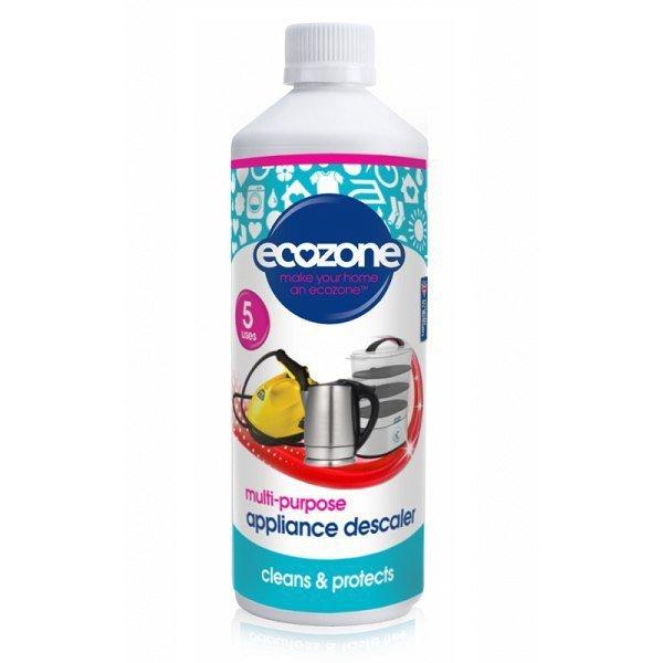 ECOZONE Uniwersalny płyn do odkamieniania różnych urządzeń domowych 500 ml 5 użyć