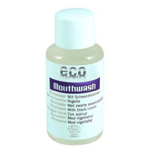 ECO COSMETICS Płyn do płukania jamy ustnej z olejkiem z CZARNUSZKI z upraw ekologicznych ECOCERT 50ml