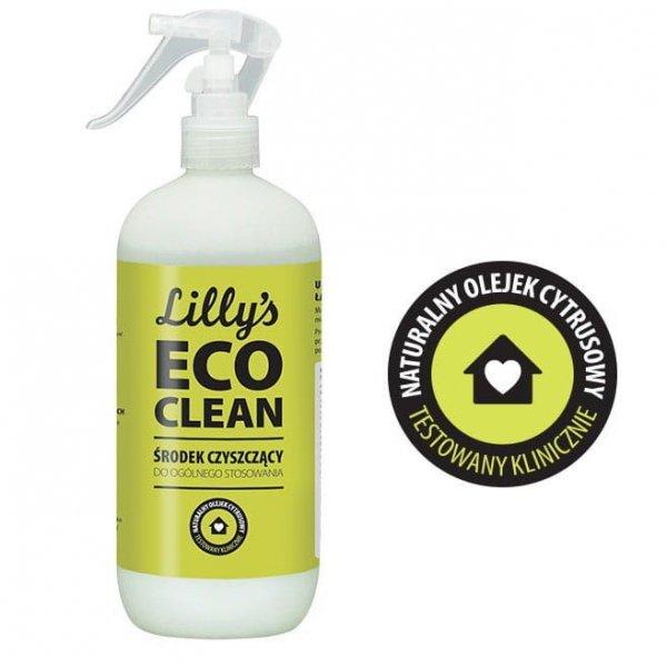 LILLY'S ECO CLEAN Środek Czyszczący do Ogólnego Stosowania z mieszanką olejków cytrusowych 500ml