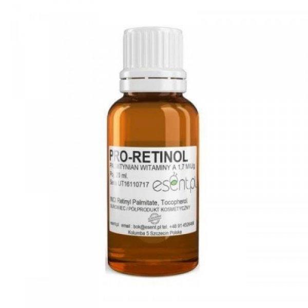 ESENT Palmitynian retinolu - PRO-RETINOL Witamina A 1.7 m. IU/g 20ml