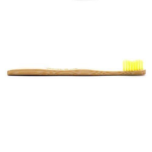HUMBLE BRUSH Szczoteczka bambusowa SOFT żółta 19cm