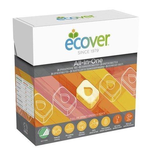 ECOVER Tabletki do zmywarki All-in-one 500g 25 szt