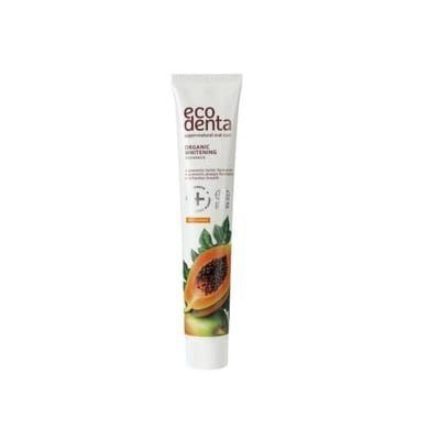 ECODENTA COSMOS Pasta do zębów wybielająca z ekstraktem papai 75ml