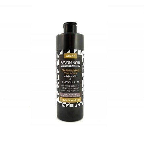 BEAUTE MARRAKECH Żel pod prysznic Savon Noir ARGANOWY z dodatkiem glinki RHASSOUL 400 ml
