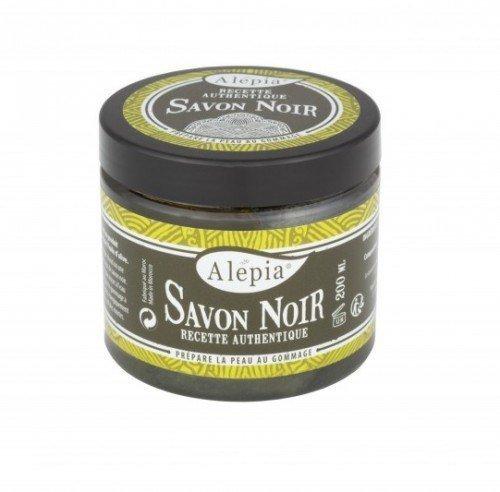 ALEPIA Mydło peelingujące Czarne Savon Noir Supreme 200 g