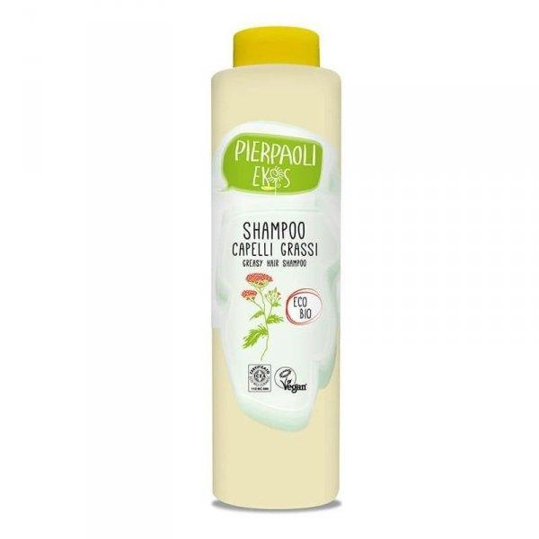 Pierpaoli Ekos Personal Care Szampon do włosów tłustych z ekstraktem z organicznego KRWAWNIKA 500ml
