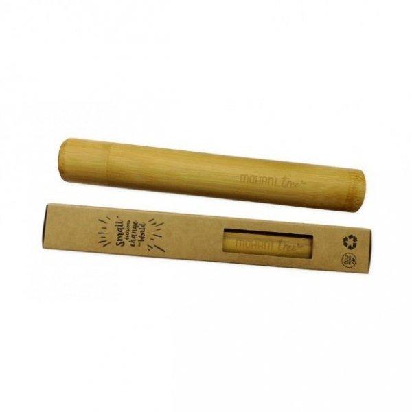 MOHANI Bambusowe etui na szczoteczkę do zębów