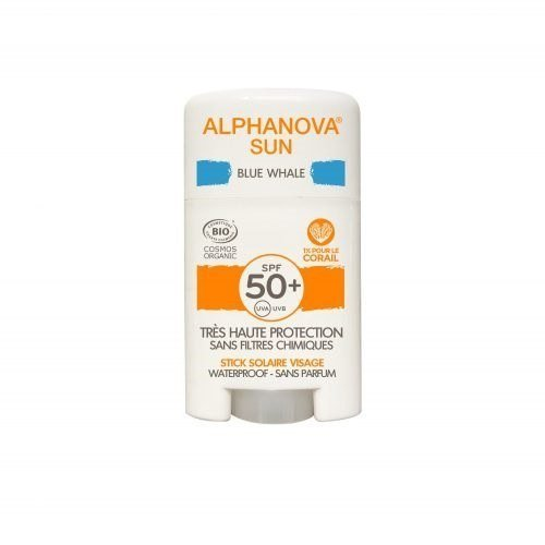 ALPHANOVA SUN Krem z filtrem w sztyfcie SPF 50+ BLUE WHALE 12g