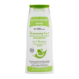 ALPHANOVA BEBE Delikatny szampon do włosów dla skóry atopowej Bio 200ml