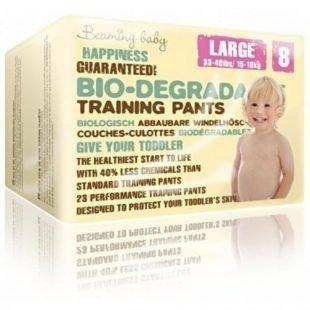 BEAMING BABY Pants Jednorazowe biodegradowalne pieluchomajtki, L, 23 szt.