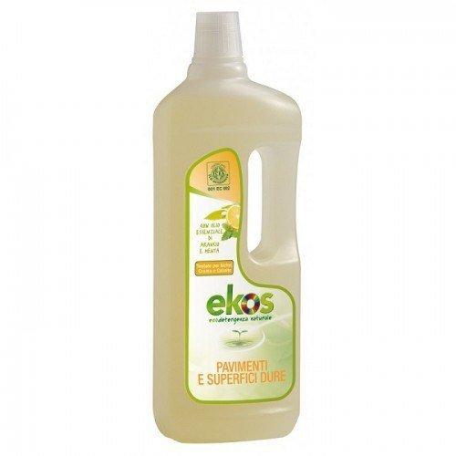 Pierpaoli EKOS Płyn do podłóg i twardych powierzchni z olejkami pomarańczowym i miętowym 750ml