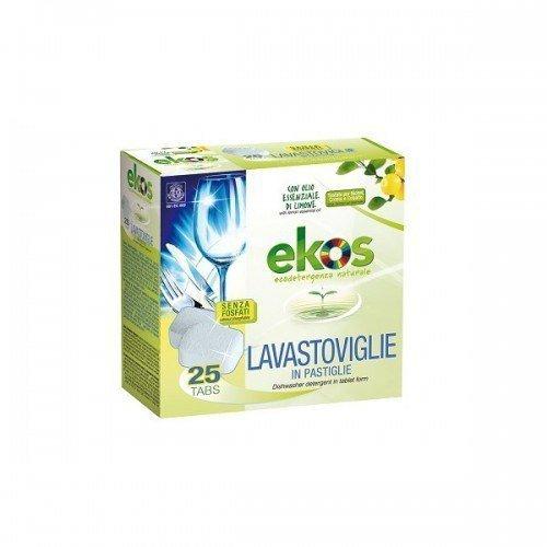 Pierpaoli EKOS Ekologiczne tabletki do zmywarki 25szt. certyfikowane dla wegan