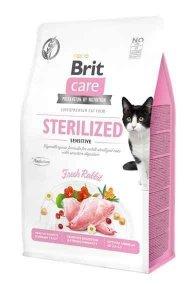 Brit Care Sterilized Sensitive 2kg dla Kotów sterylizowanych z problemami trawiennymi