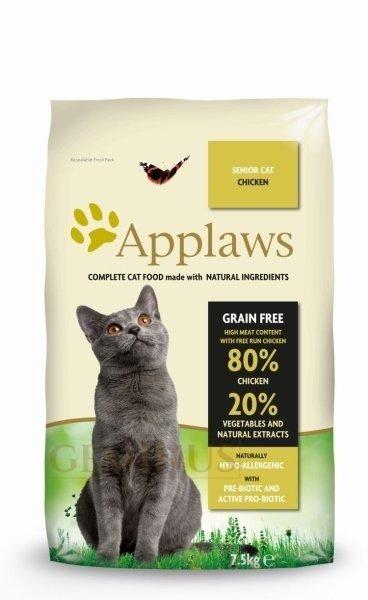 Applaws Senior z Kurczakiem 7,5kgdla Starszych Kotów