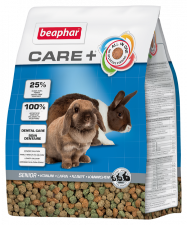 beaphar Care+ Senior sucha karma dla Królika 1,5kg