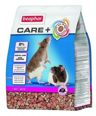 beaphar Care+ sucha karma dla Szczura 1,5kg