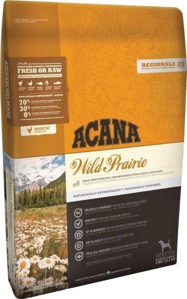 ACANA Wild Prairie 11,4kg dla psa Drób Ryby