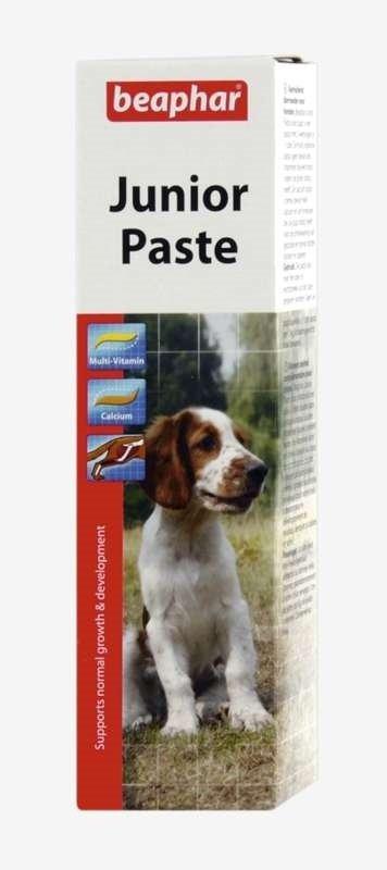 beaphar Junior Paste duo activ 100g - pasta witaminowa dla szczeniąt