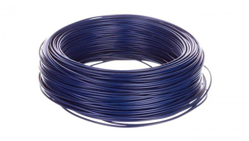 Przewód instalacyjny H05V-K 1 niebieski morski 4510163 /100m/
