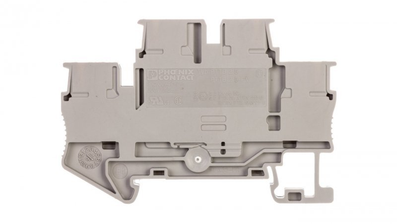 Złączka szynowa 2-piętrowa 014-4mm2 szara PITTB 2,5 3210567