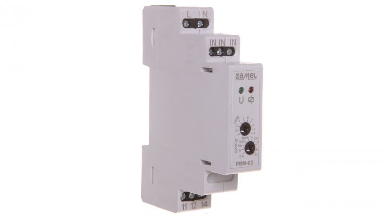 Przekaźnik bistabilny z wyłącznikiem czasowym 230V AC PBM-03 EXT10000065