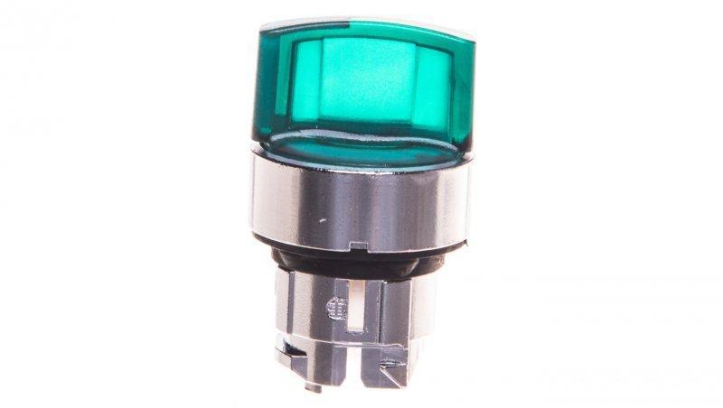 Napęd przełącznika 3 połóżeniowy zielony z samopowrotem z prawej do środka ZB4BK1833
