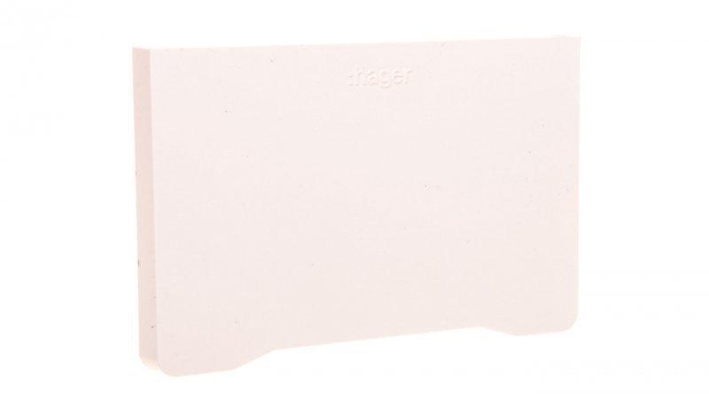 Końcówka kanału 56x85mm GBD(A)50085 biała L44739010