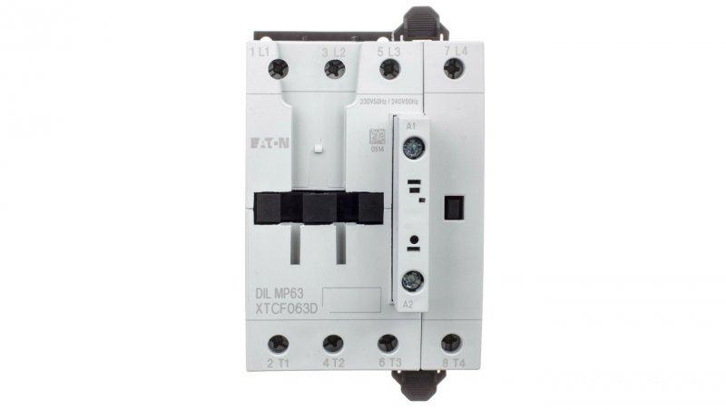 Stycznik mocy 63A AC-1 4P 230VAC 0Z 0R DILMP63(230V50HZ,240V60HZ) 109855