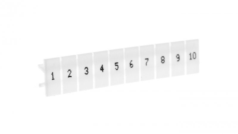 Oznacznik do złączek EZU-5/1-10 biały R34RR-07060001210 /100szt./